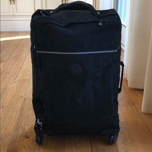 Kipling rolling luggage in black
